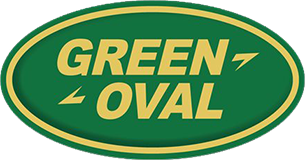 Green Oval Automotives Logo